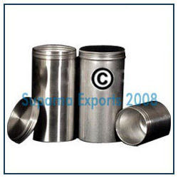 Aluminum Canisters with Screw on Lids