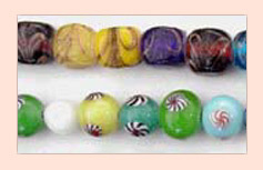 Chinese Eye Glass Beads