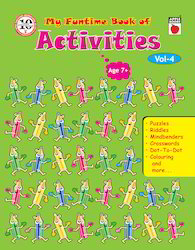 My Funtime Book Of Activities- Vol-4