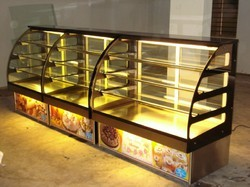 4 Step Bakery Display Counter