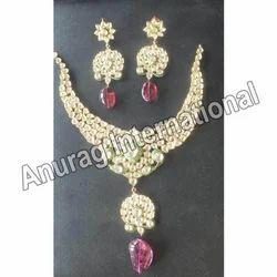 Kundan Ruby Necklace Sets