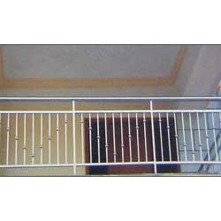 Stainless steel hand rail hand railings manufacturer - Box grill designs balcony ...