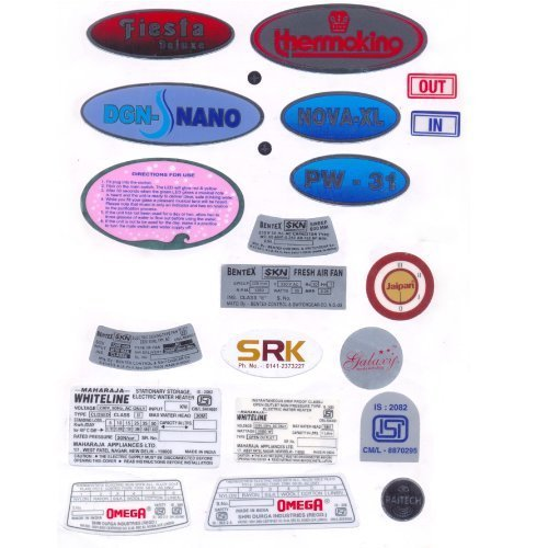 Dome labels and pu dome labels manufacturer shri anand enterprises new delhi
