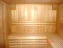 sauna wooden construction