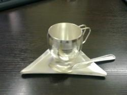Silver Finish Stylo Cup