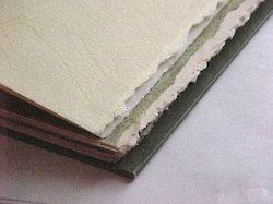 Handnmade Papers with Deckle Edges