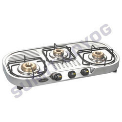 Three Burner Cook Top Tri Jet