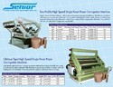 Paper Corrugating Machines