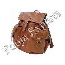 Leather Backpack Bags (Product Code: BP035)
