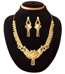 24K Gold Plated Trendy Vintage Indian Jewelry