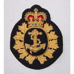 Canadian Navy Petty Officer Cap Badge