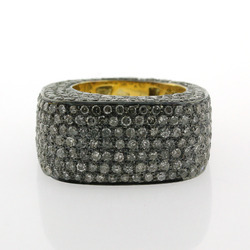 Diamond Pave Finger Bands