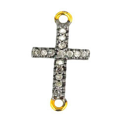 Silver Cross Charm Finding