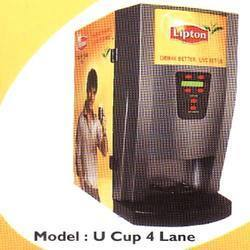 Tea & Coffee Vending Machine 4 Lane