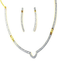 Necklace Set With Zircons