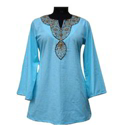 Blue Women Kurta