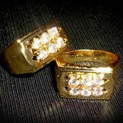 Gold Plated Finger Rings