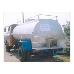 Road Tanker Milk Storage