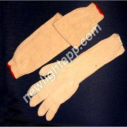 Cotton Gloves Sleeves
