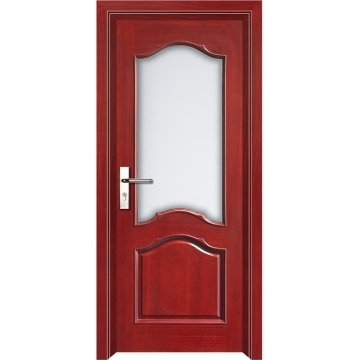 Glass Wood Panels Door