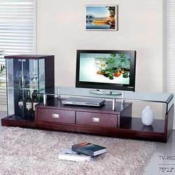 Tv Unit With Side Almirah