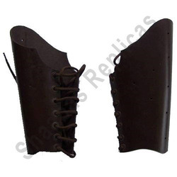 Medieval Leather Bracers