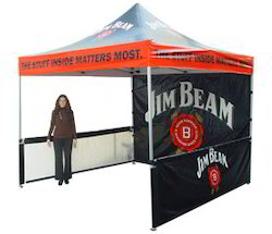 Jim Beam Pop Up Tent