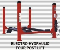 Electro Hydraulic Four Post Lift