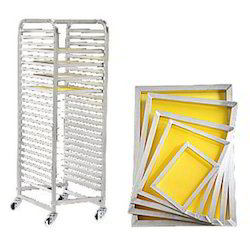 Screen Storage Racks