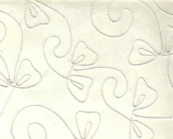 Rayon Cord Embroidered Handmade Paper