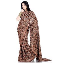 Full Embroidered Sarees