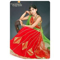 Red Chaniya Choli