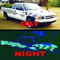 Night Glow Vinyl Film
