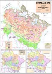 Map Of Uttarakhand Physical