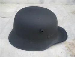 Leather German Helmet
