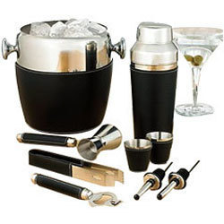 Leather Barware Sets