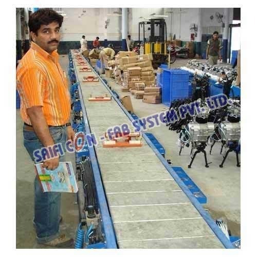 Industrial Slat Conveyors