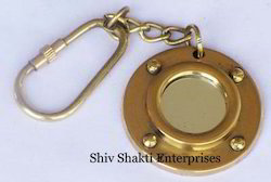 Brass Porthole Key Chain