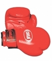 All Red Boxing Gloves