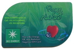 New Bio Energy Card 2mm Thickness