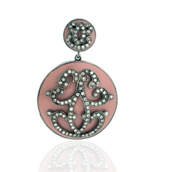 Diamond studded Enamel Jewelry