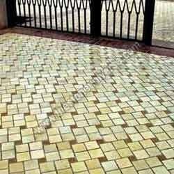 Mint Sandstone Mosaic Tile