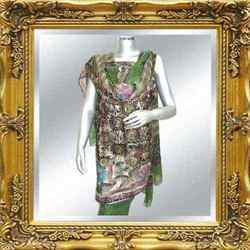 Winter Collection Salwar Kameez Printed (Green)
