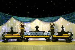 Asian Wedding Royal Black Furniture