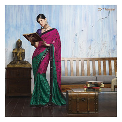 Fancy Print Sarees