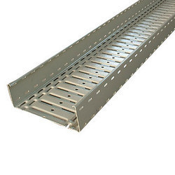 M.S. Pipe Section Cable Trays