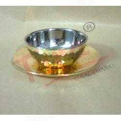 Brass Finger Bowl With Liner