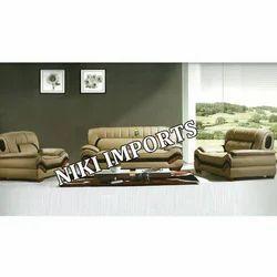 Lotus  Bonded Leather Sofa Set - Rexine
