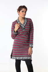 Ladies long sweater 06