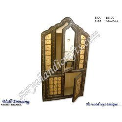 wooden wall dressing